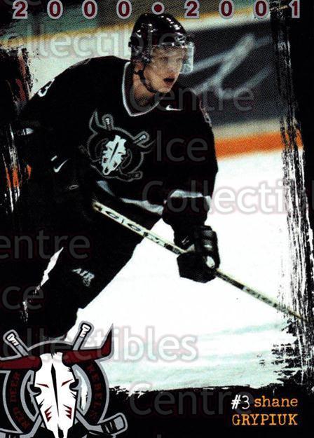 2000-01 Red Deer Rebels #7 Shane Grypiuk