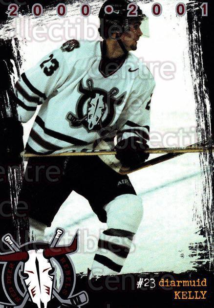 2000-01 Red Deer Rebels #8 Diarmuid Kelly