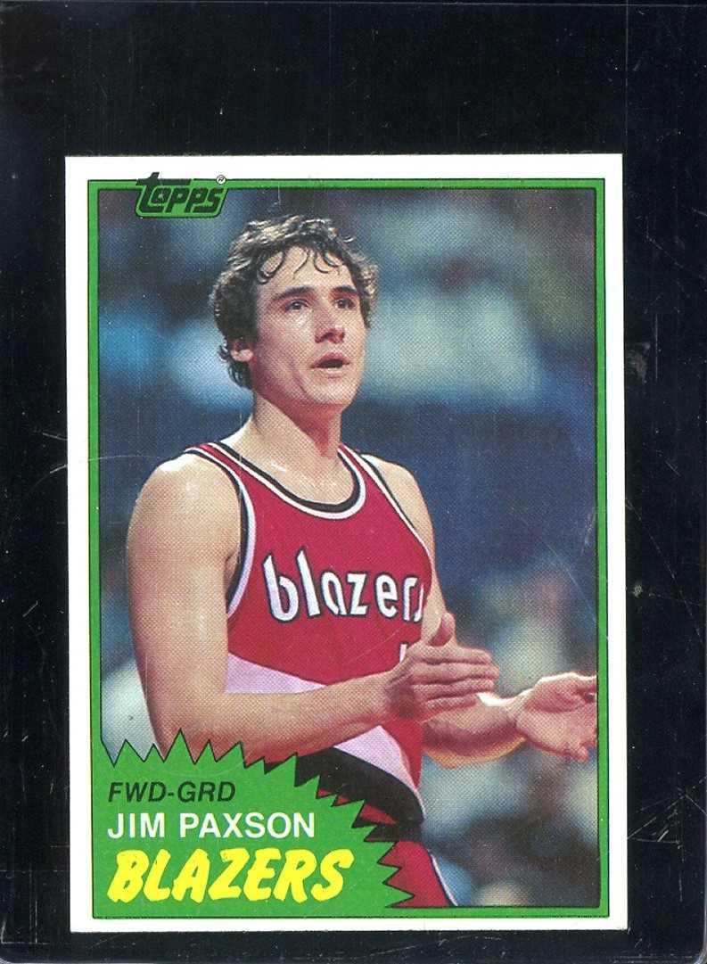1981 TOPPS 87W JIM PAXSON NM A8215