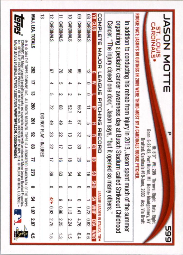 2014-Tarjeta-de-beisbol-Topps-Verde-Pick miniatura 85