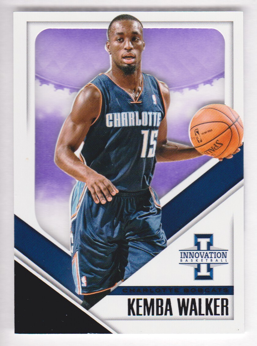 2013-14 Innovation Purple #29 Kemba Walker