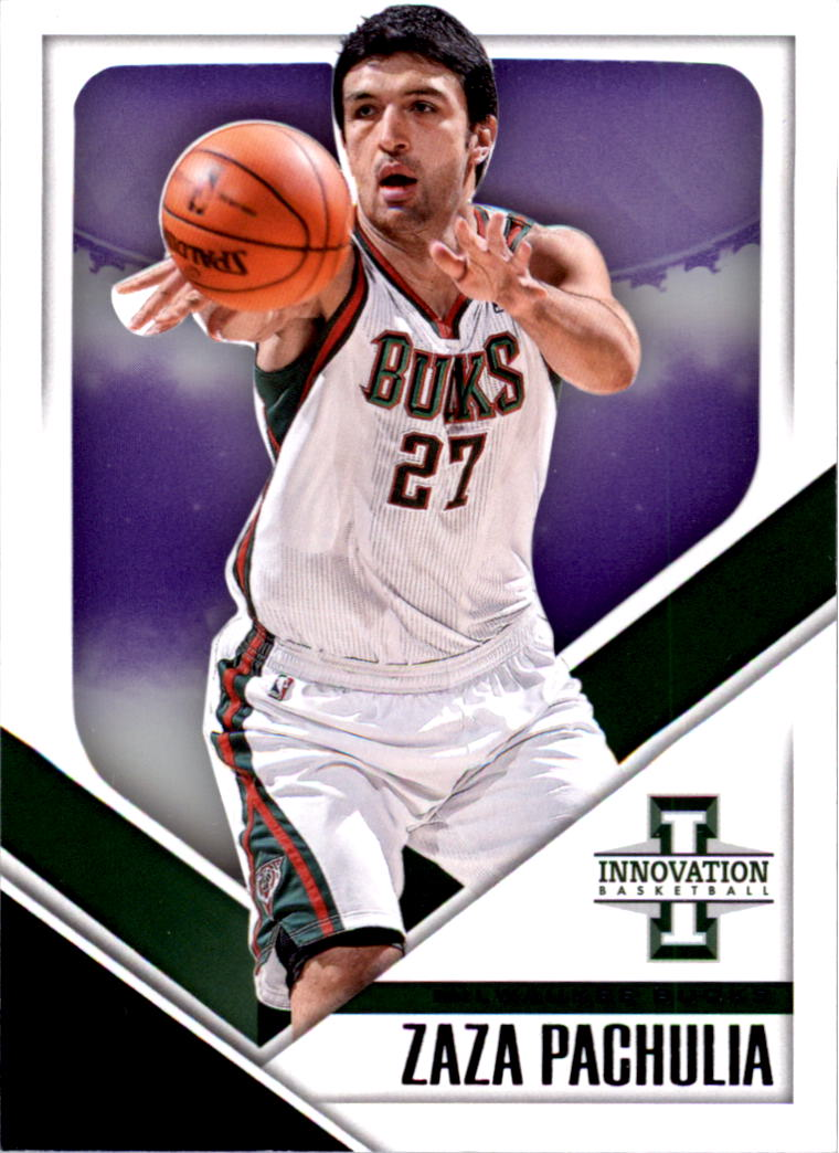 2013-14 Innovation Purple #39 Zaza Pachulia