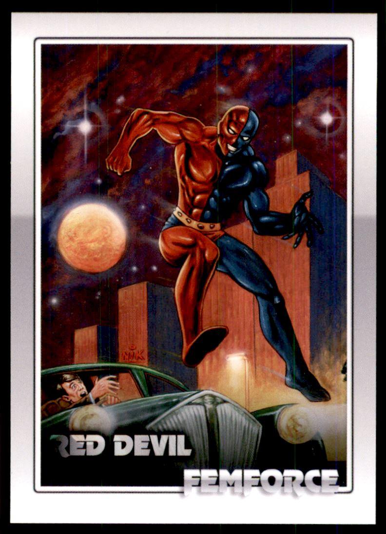 2011 FemForce #25 Red Devil
