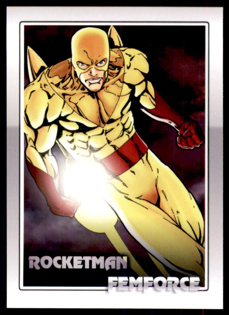 2011 FemForce #30 Rocketman