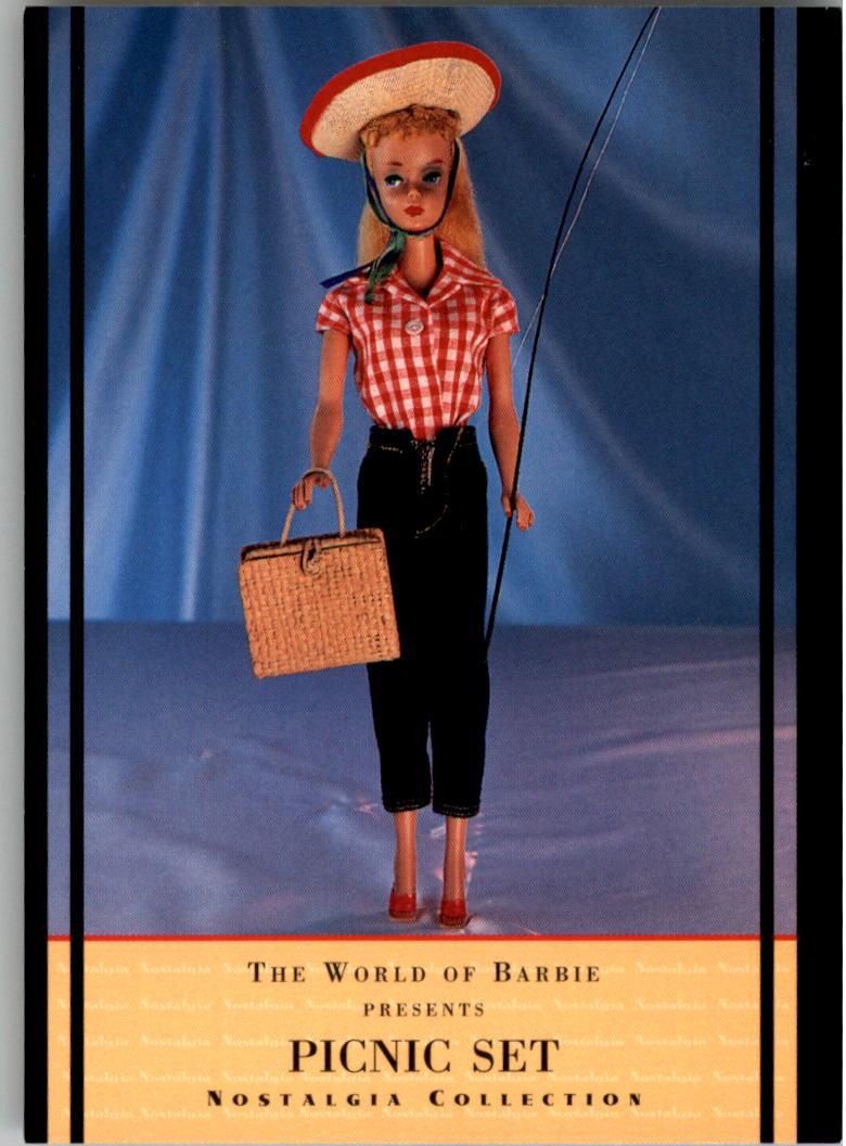 1997 World of Barbie #41 Picnic Set