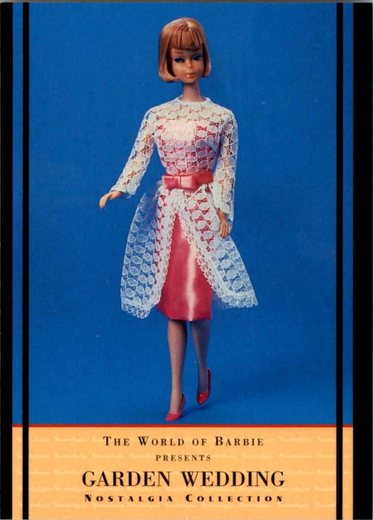 1997 World of Barbie #44 Garden Wedding