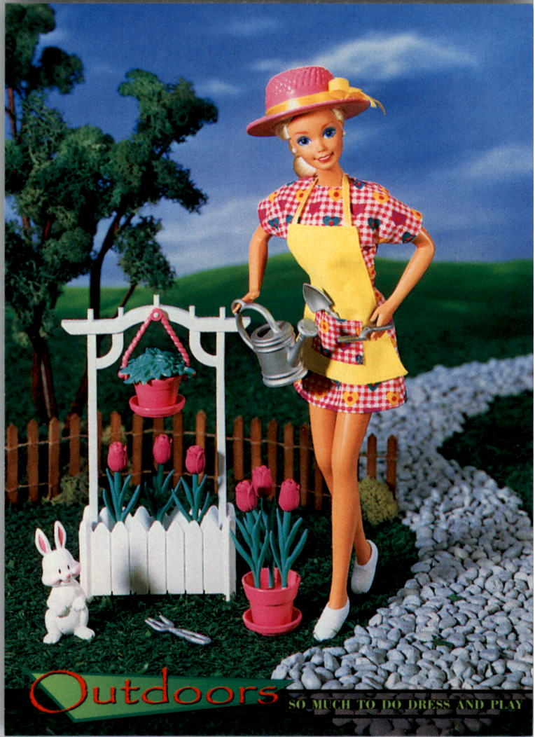 1997 World of Barbie #95 So Much To Do Dress and Play