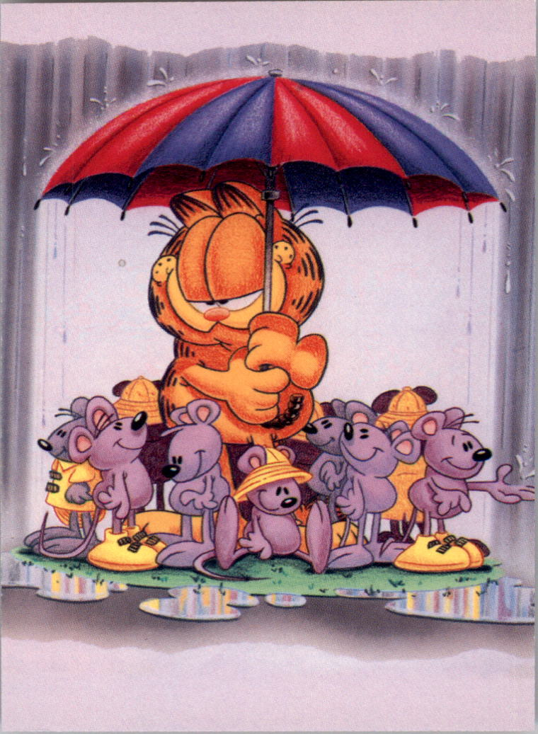 1995 Garfield 60 Good Friends Are Like Umbrellas Nm Mt