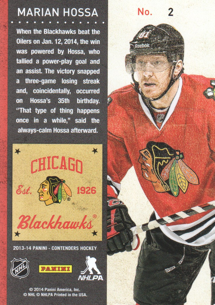 2013-14-Panini-Contenders-Hockey-Cards-Pick-From-List thumbnail 5