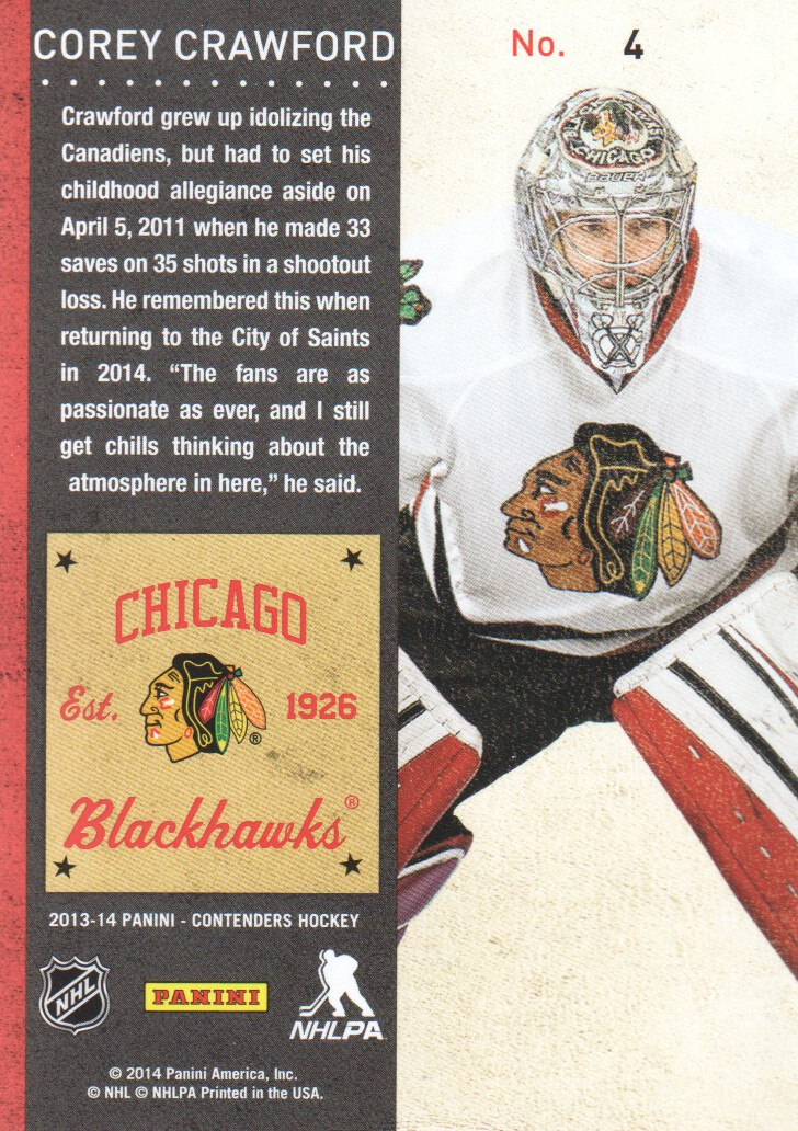 2013-14-Panini-Contenders-Hockey-Cards-Pick-From-List thumbnail 9