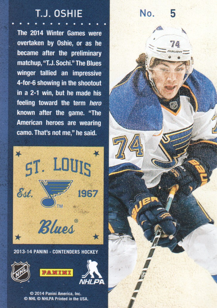 2013-14-Panini-Contenders-Hockey-Cards-Pick-From-List thumbnail 11