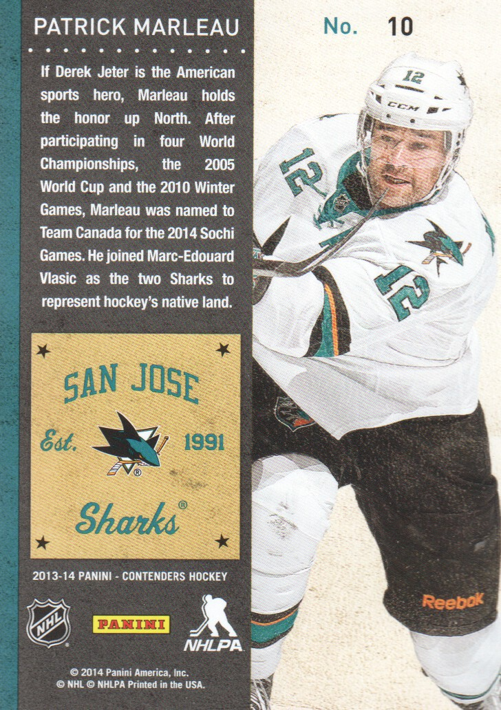 2013-14-Panini-Contenders-Hockey-Cards-Pick-From-List thumbnail 21