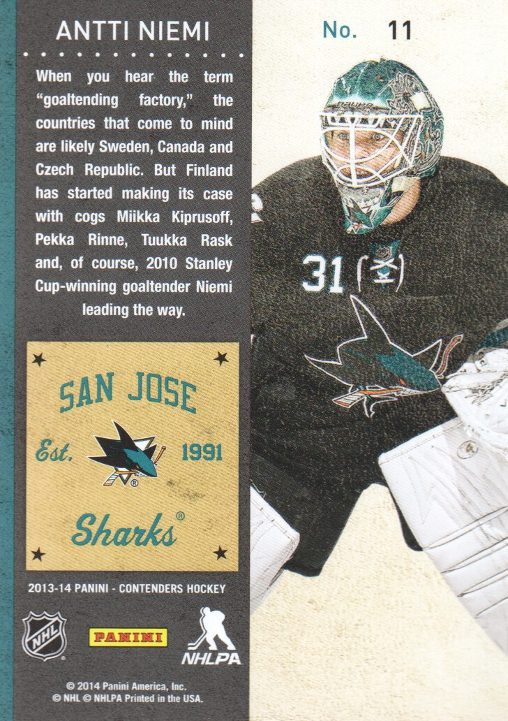 2013-14-Panini-Contenders-Hockey-Cards-Pick-From-List thumbnail 23