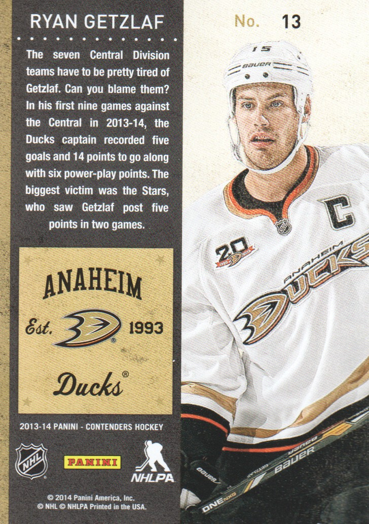 2013-14-Panini-Contenders-Hockey-Cards-Pick-From-List thumbnail 27