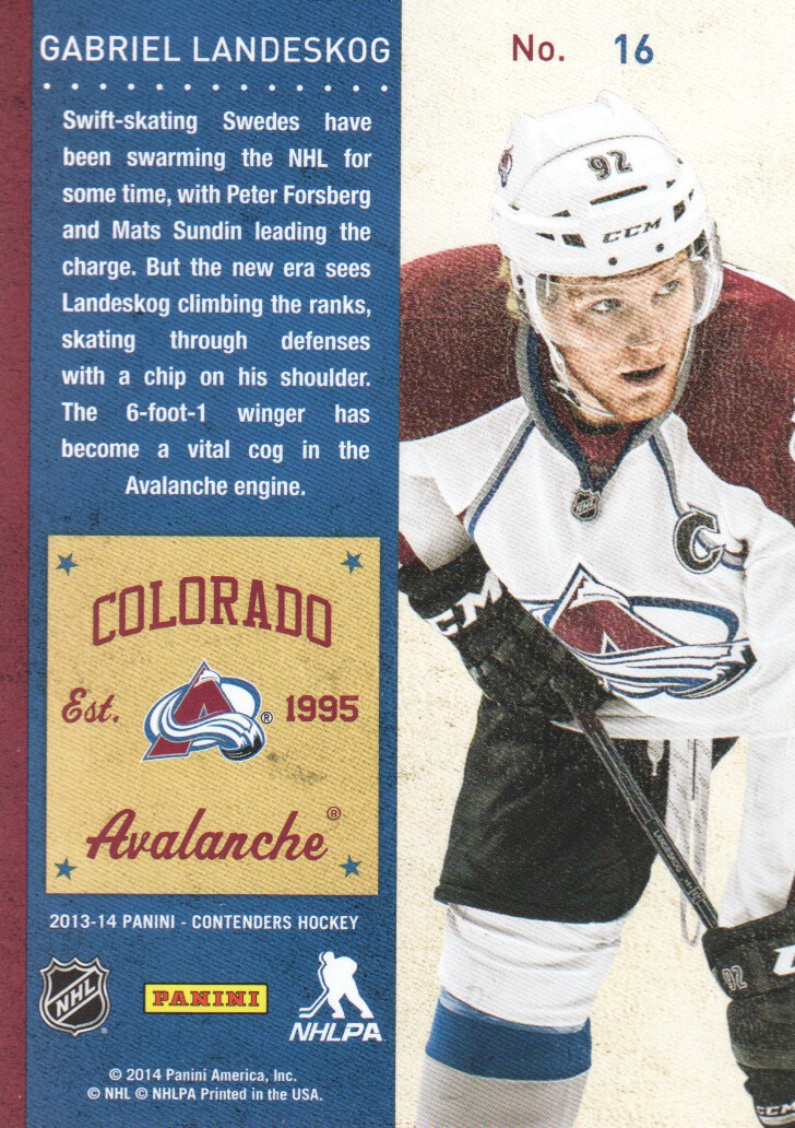 2013-14-Panini-Contenders-Hockey-Cards-Pick-From-List thumbnail 33