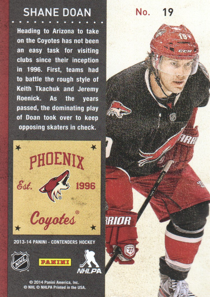2013-14-Panini-Contenders-Hockey-Cards-Pick-From-List thumbnail 39