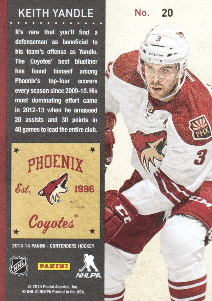 2013-14-Panini-Contenders-Hockey-Cards-Pick-From-List thumbnail 41