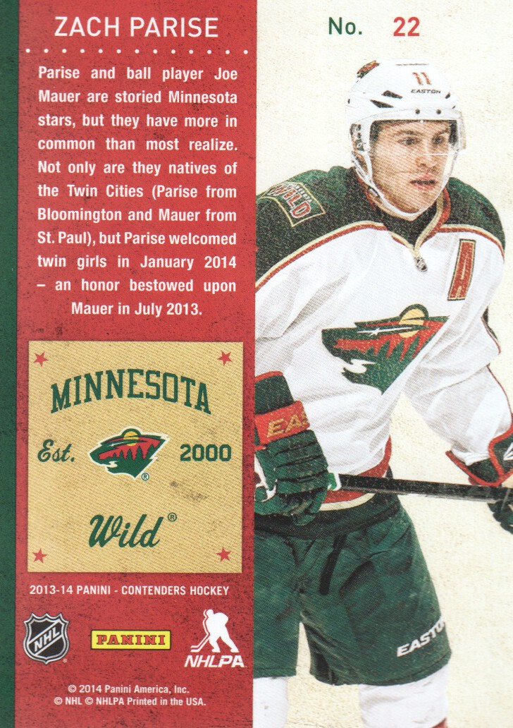 2013-14-Panini-Contenders-Hockey-Cards-Pick-From-List thumbnail 45