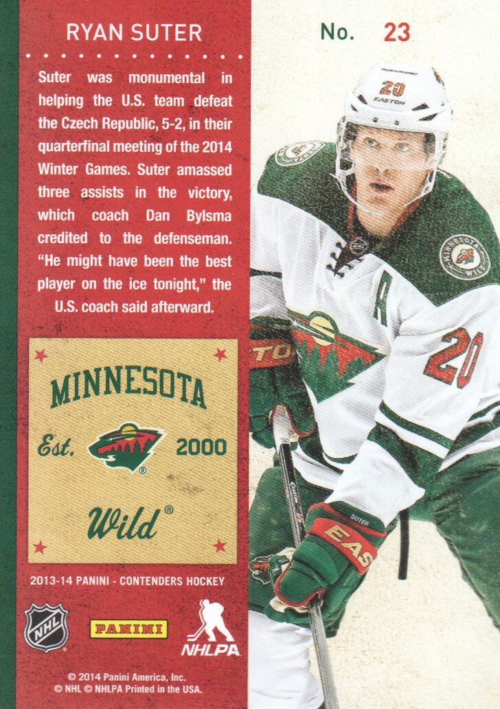 2013-14-Panini-Contenders-Hockey-Cards-Pick-From-List thumbnail 47