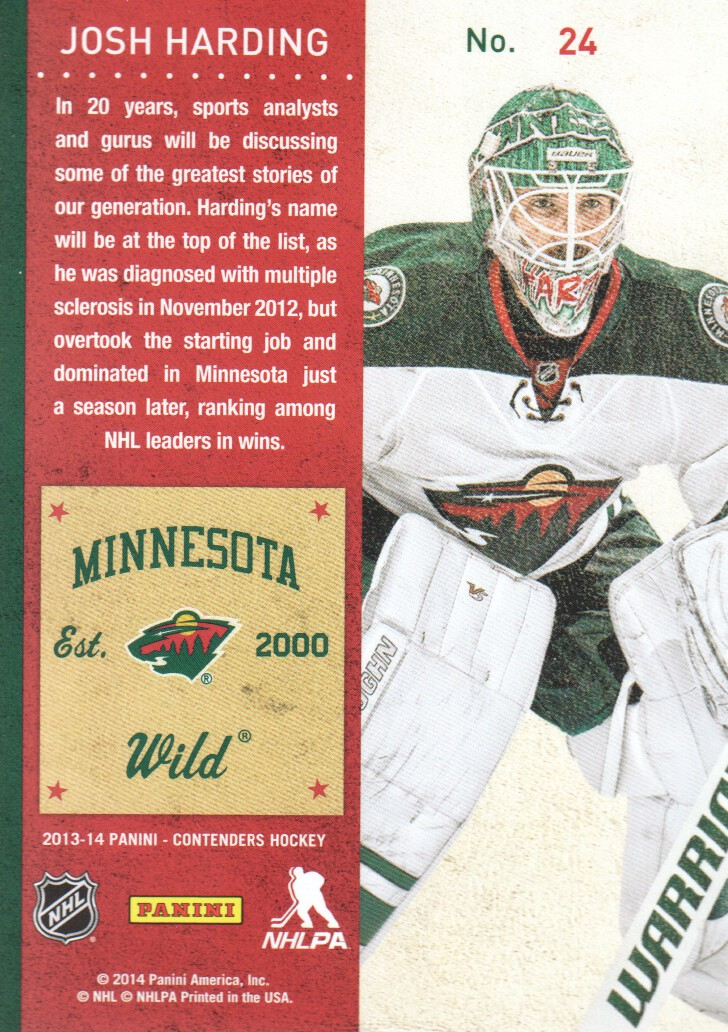 2013-14-Panini-Contenders-Hockey-Cards-Pick-From-List thumbnail 49