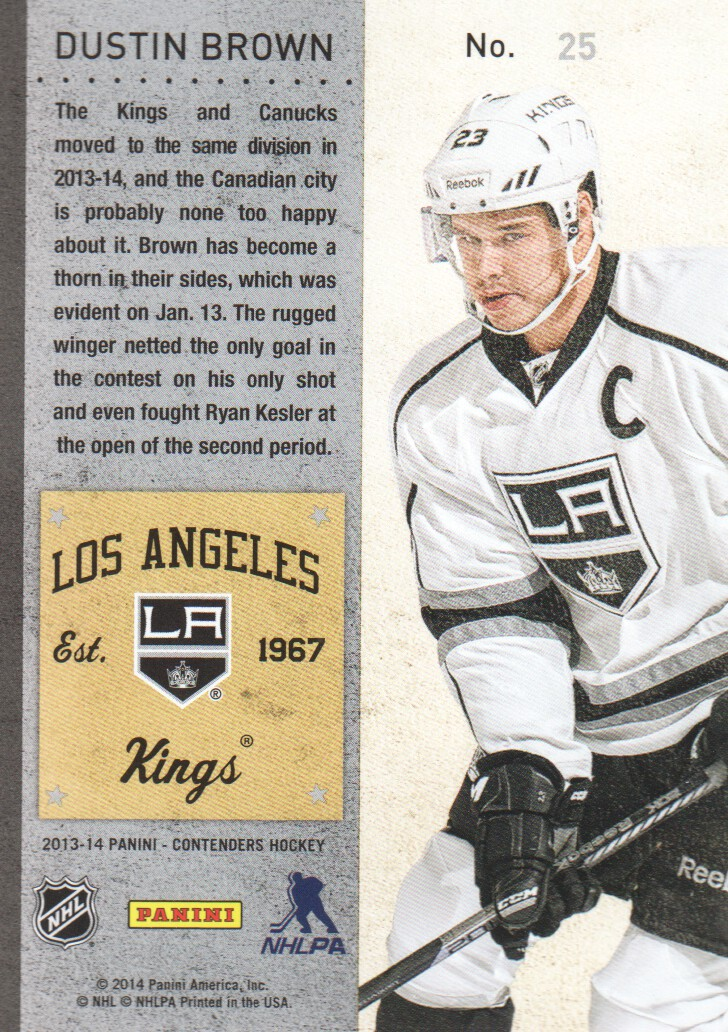 2013-14-Panini-Contenders-Hockey-Cards-Pick-From-List thumbnail 51