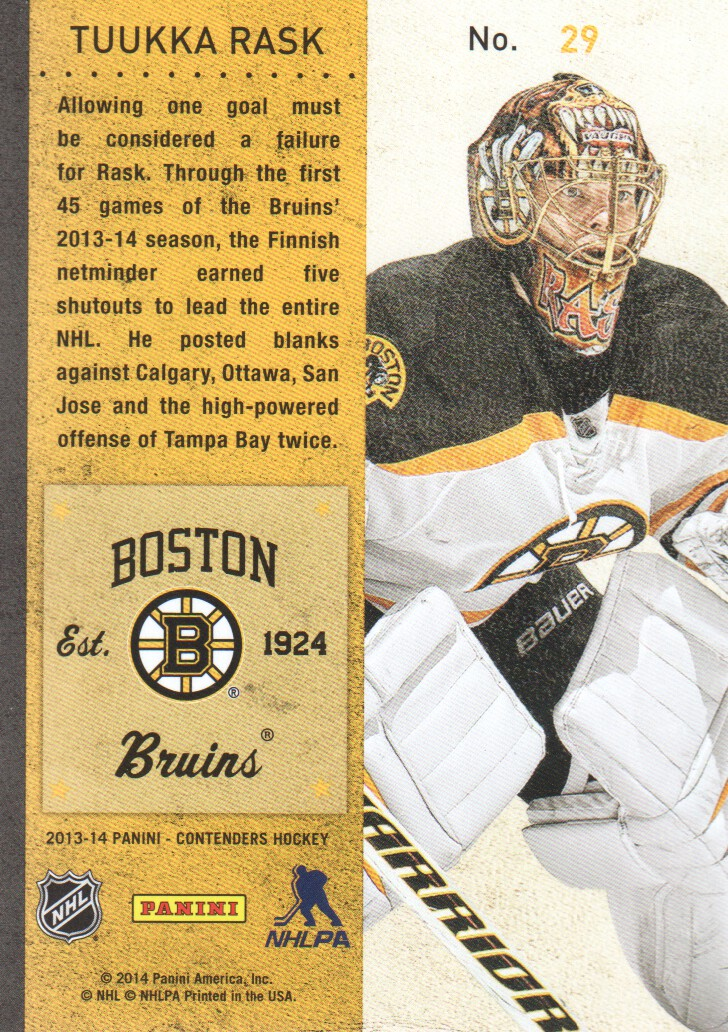 2013-14-Panini-Contenders-Hockey-Cards-Pick-From-List thumbnail 59