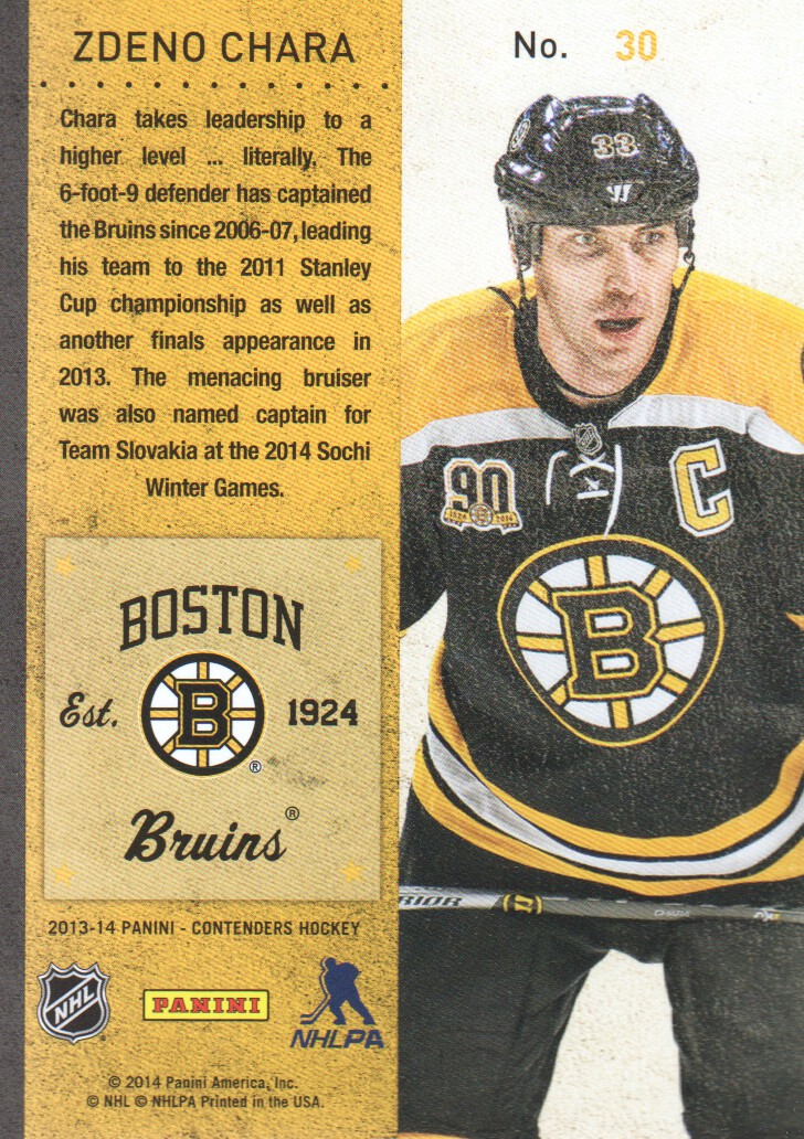 2013-14-Panini-Contenders-Hockey-Cards-Pick-From-List thumbnail 61