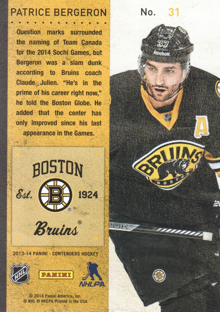 2013-14-Panini-Contenders-Hockey-Cards-Pick-From-List thumbnail 63