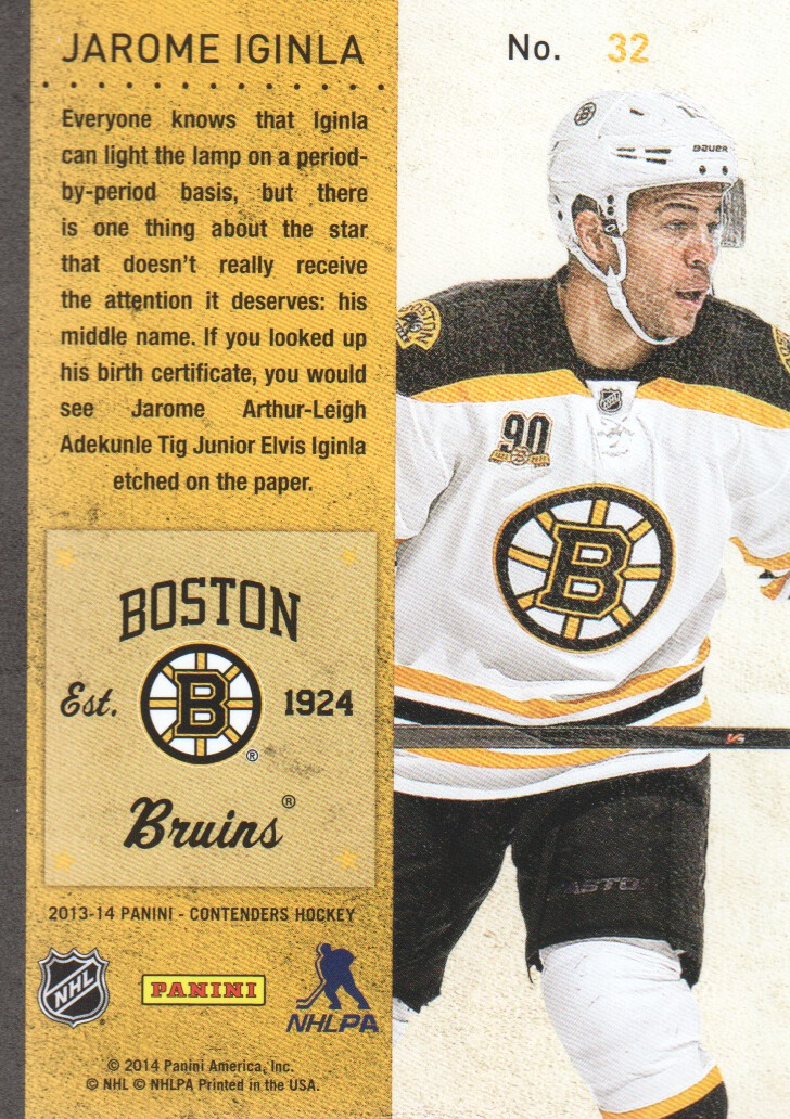 2013-14-Panini-Contenders-Hockey-Cards-Pick-From-List thumbnail 65