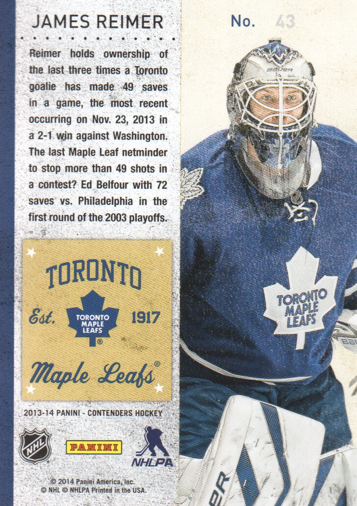 2013-14-Panini-Contenders-Hockey-Cards-Pick-From-List thumbnail 87