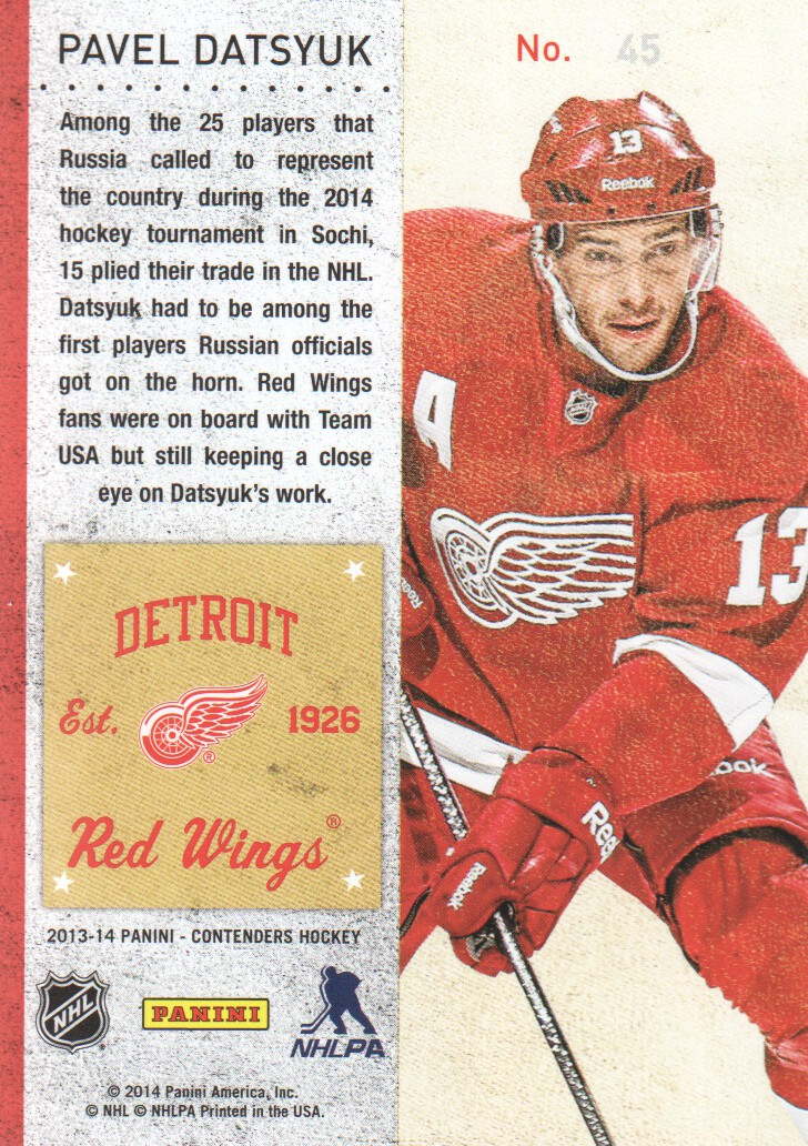 2013-14-Panini-Contenders-Hockey-Cards-Pick-From-List thumbnail 91
