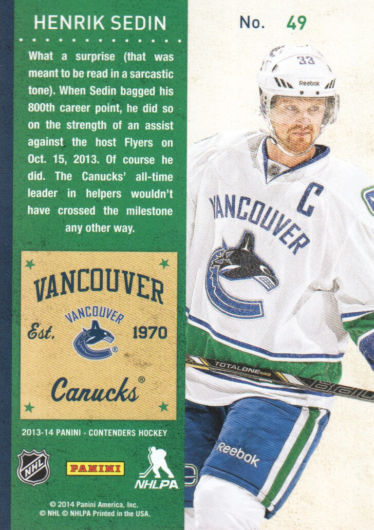 2013-14-Panini-Contenders-Hockey-Cards-Pick-From-List thumbnail 99
