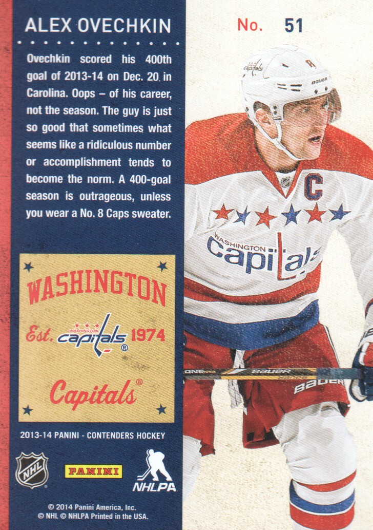 2013-14-Panini-Contenders-Hockey-Cards-Pick-From-List thumbnail 103
