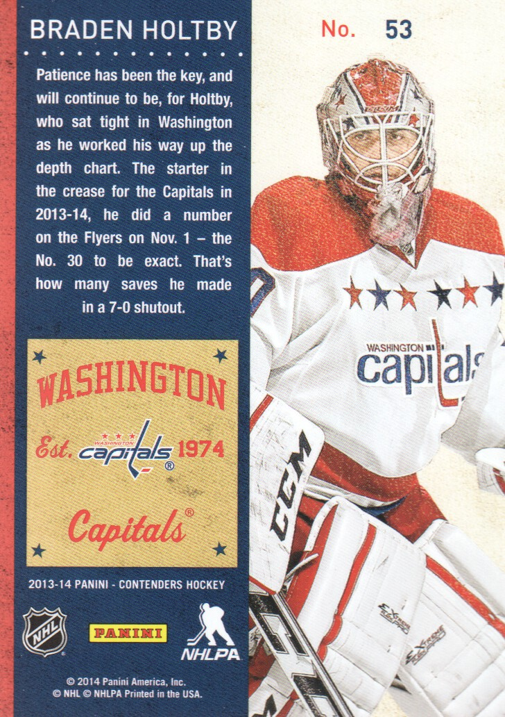 2013-14-Panini-Contenders-Hockey-Cards-Pick-From-List thumbnail 107