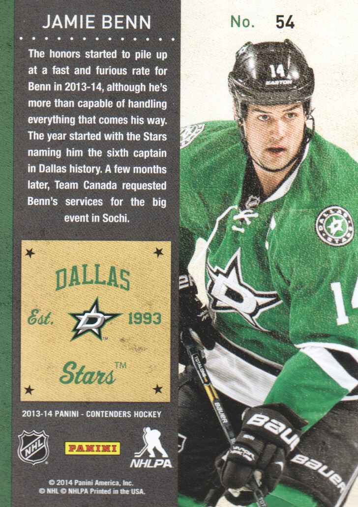 2013-14-Panini-Contenders-Hockey-Cards-Pick-From-List thumbnail 109