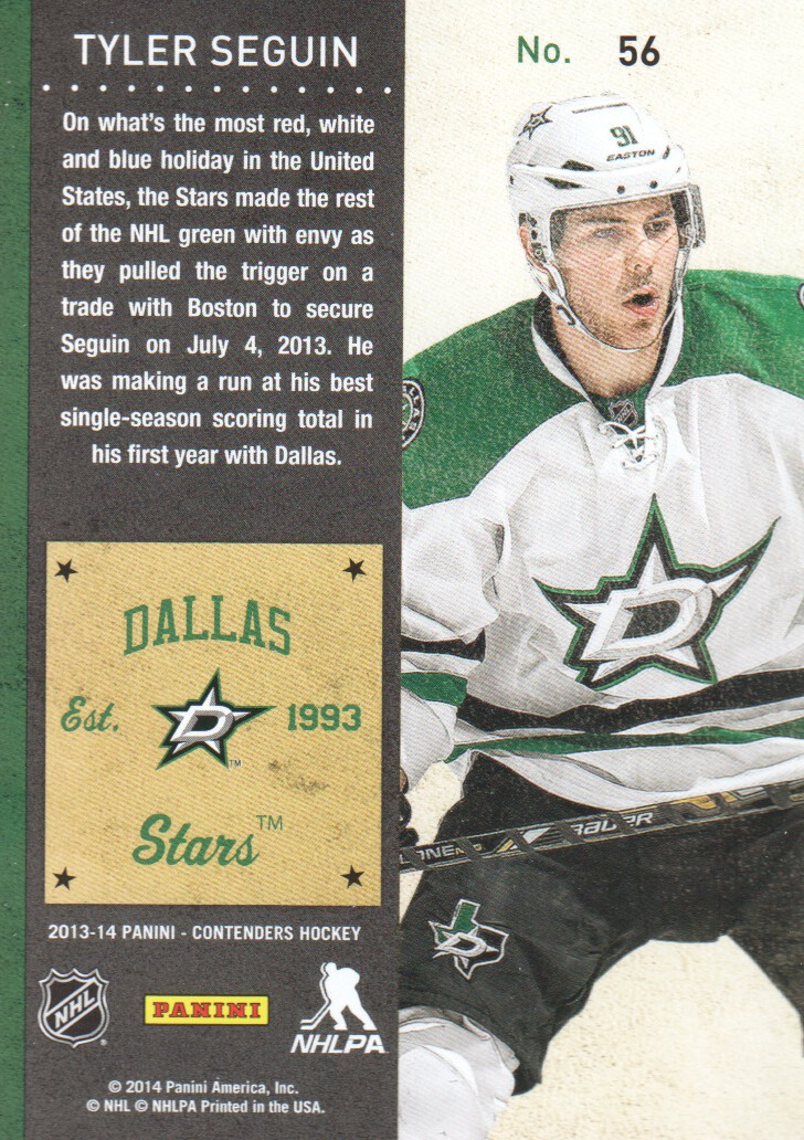 2013-14-Panini-Contenders-Hockey-Cards-Pick-From-List thumbnail 113