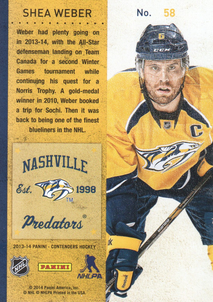 2013-14-Panini-Contenders-Hockey-Cards-Pick-From-List thumbnail 117