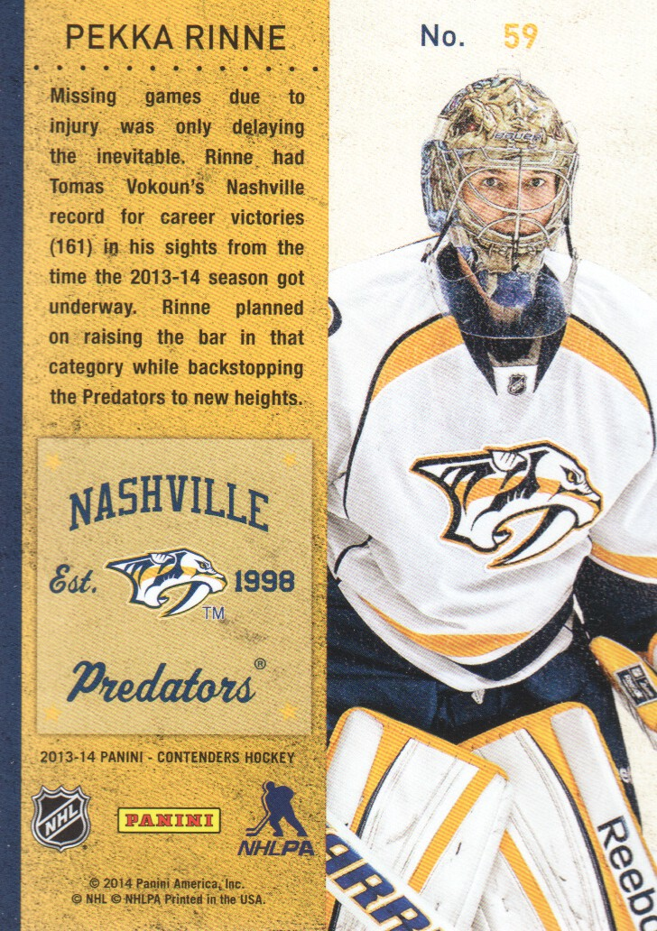 2013-14-Panini-Contenders-Hockey-Cards-Pick-From-List thumbnail 119