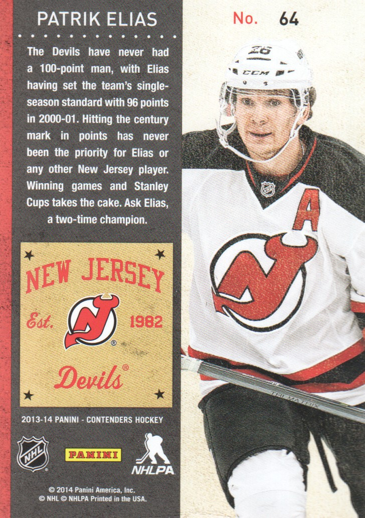 2013-14-Panini-Contenders-Hockey-Cards-Pick-From-List thumbnail 129