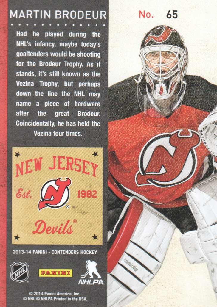2013-14-Panini-Contenders-Hockey-Cards-Pick-From-List thumbnail 131