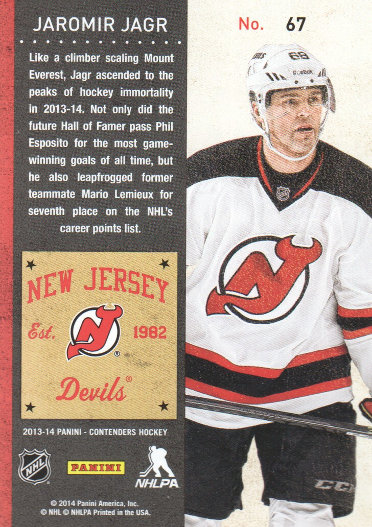 2013-14-Panini-Contenders-Hockey-Cards-Pick-From-List thumbnail 135