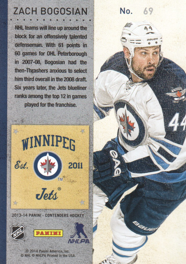 2013-14-Panini-Contenders-Hockey-Cards-Pick-From-List thumbnail 139