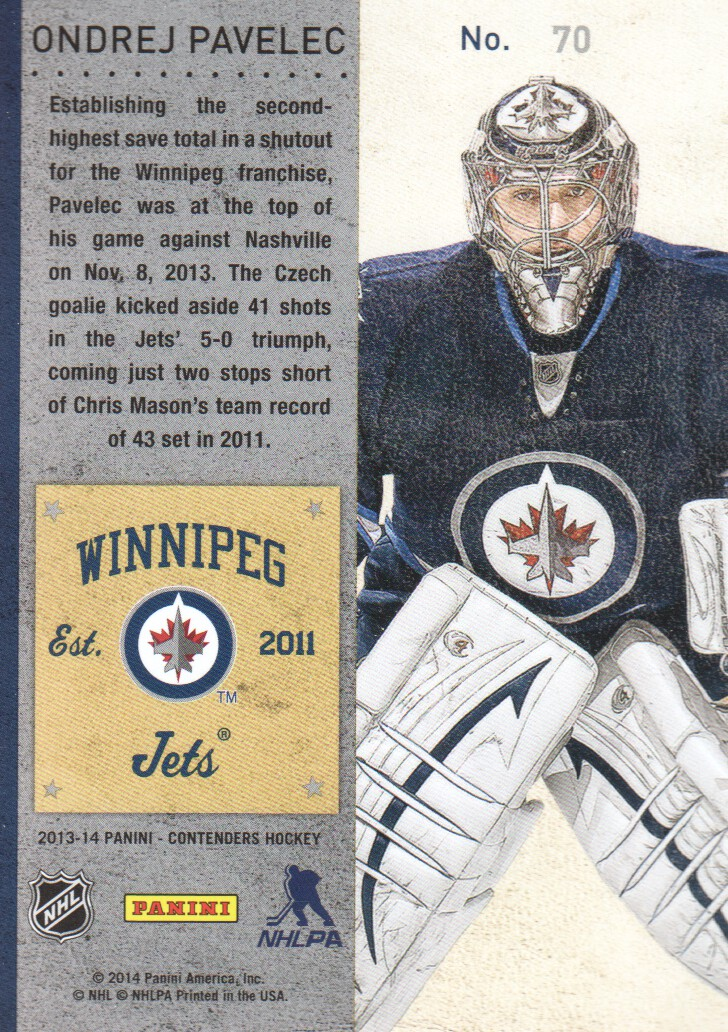 2013-14-Panini-Contenders-Hockey-Cards-Pick-From-List thumbnail 141