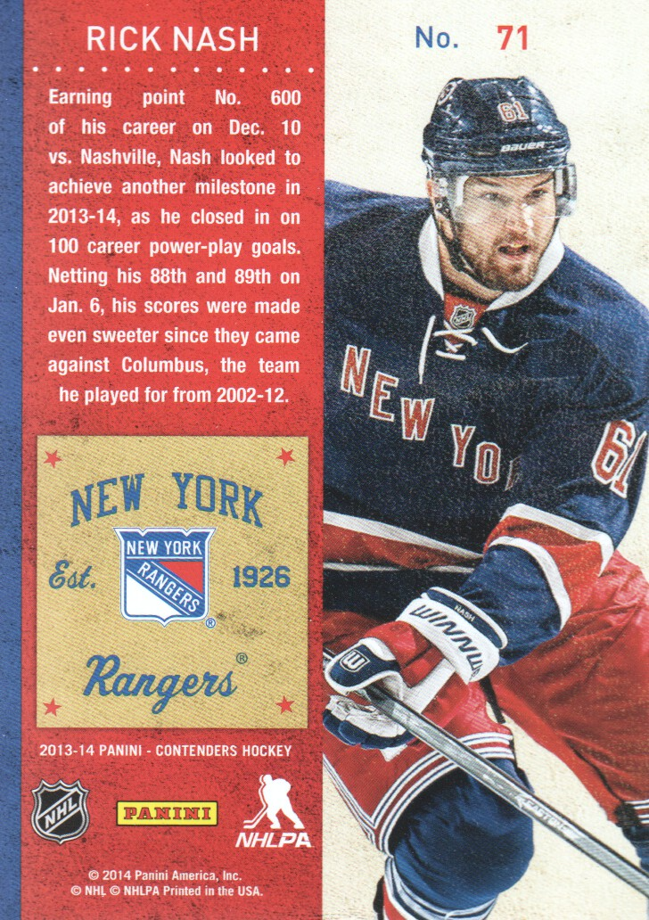 2013-14-Panini-Contenders-Hockey-Cards-Pick-From-List thumbnail 143
