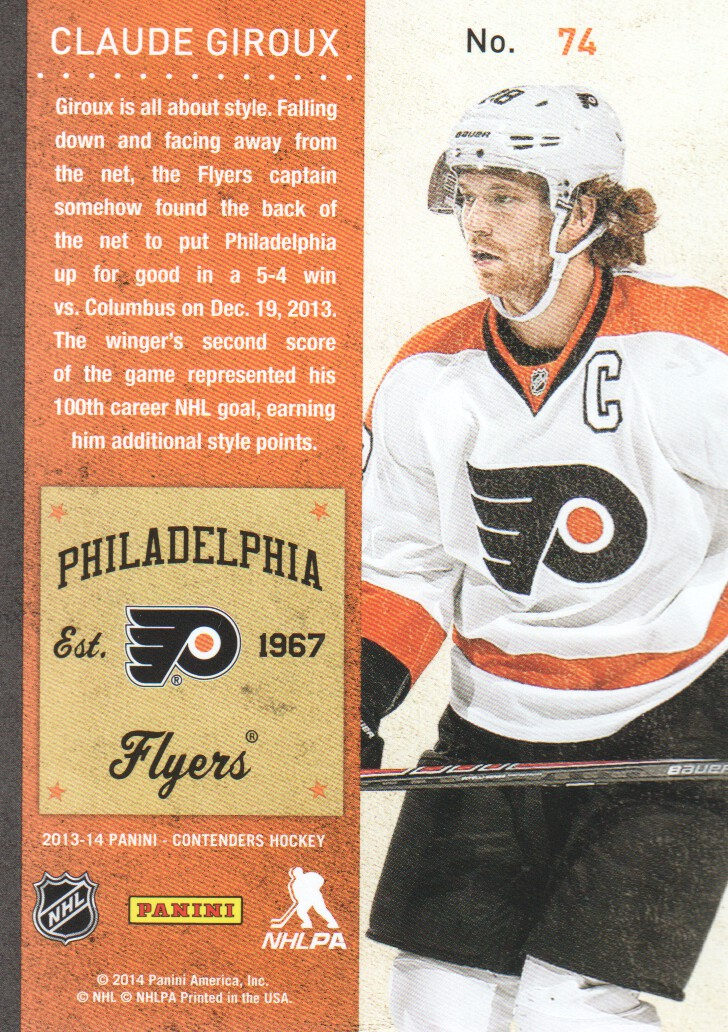 2013-14-Panini-Contenders-Hockey-Cards-Pick-From-List thumbnail 149