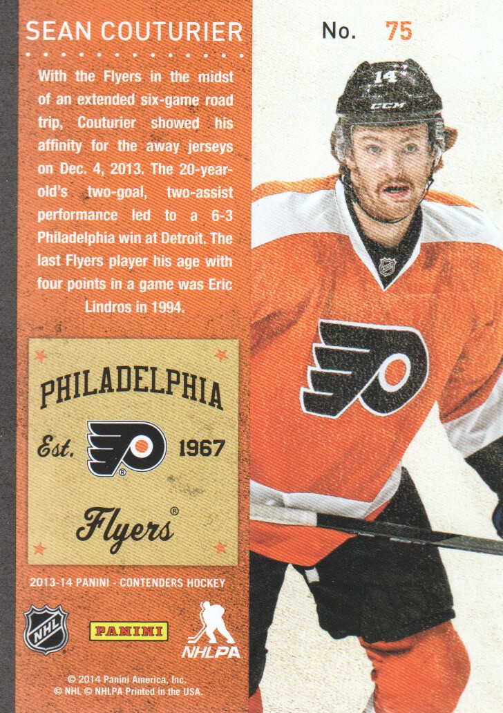 2013-14-Panini-Contenders-Hockey-Cards-Pick-From-List thumbnail 151