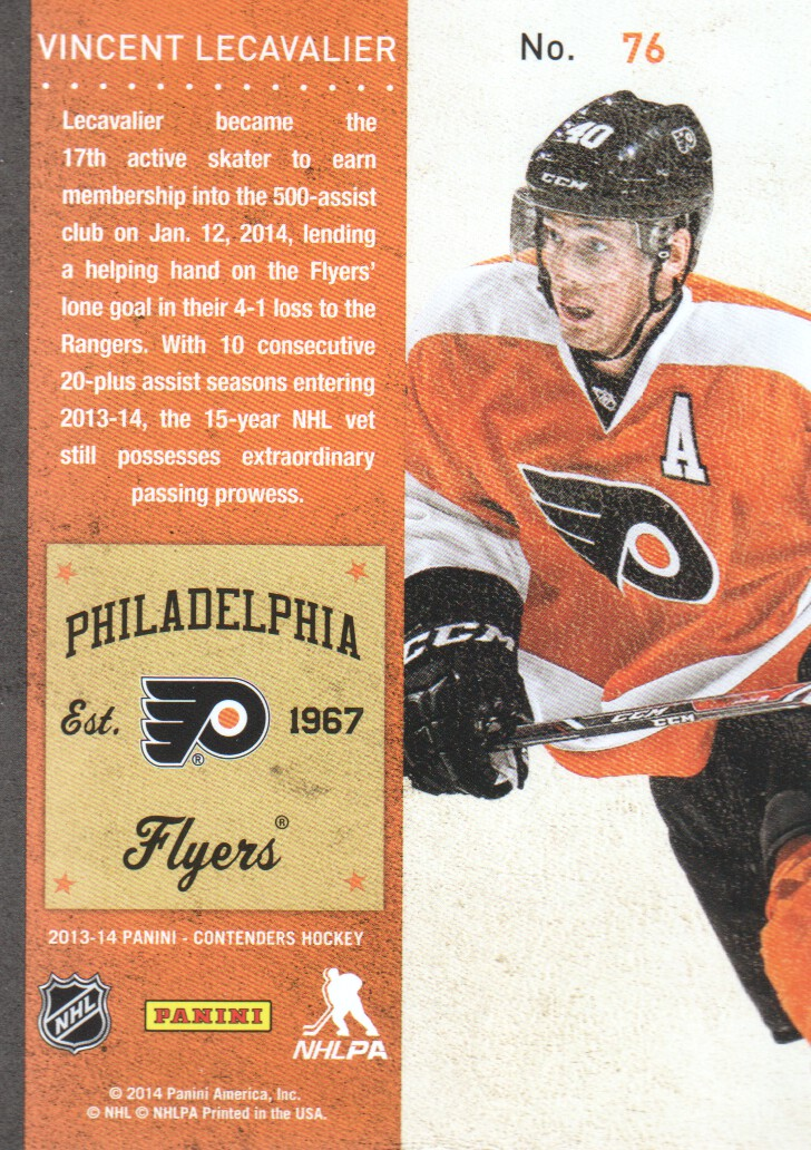 2013-14-Panini-Contenders-Hockey-Cards-Pick-From-List thumbnail 153