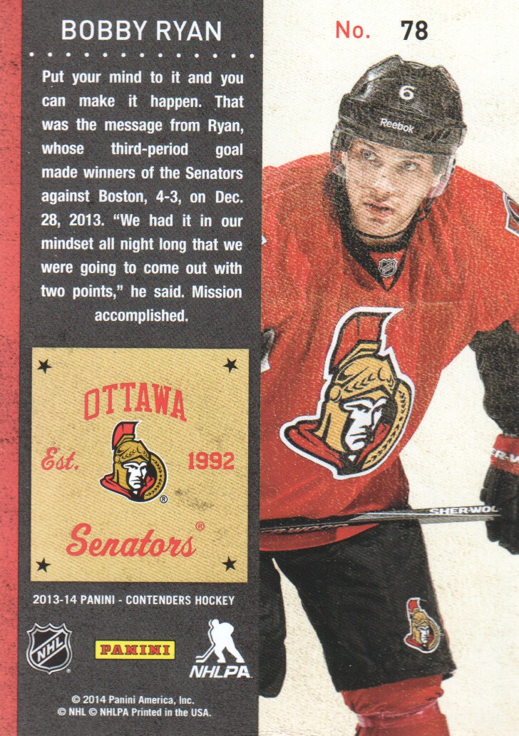 2013-14-Panini-Contenders-Hockey-Cards-Pick-From-List thumbnail 157