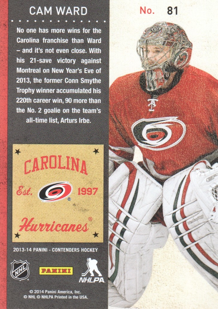 2013-14-Panini-Contenders-Hockey-Cards-Pick-From-List thumbnail 163