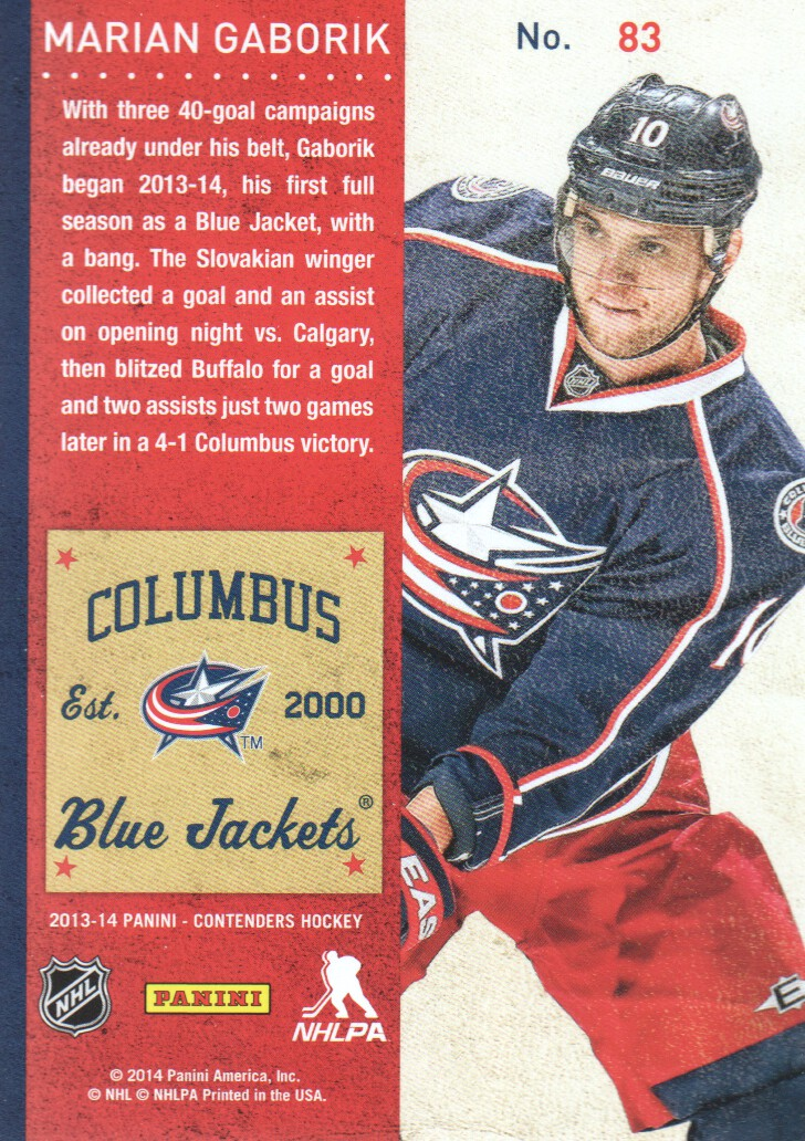 2013-14-Panini-Contenders-Hockey-Cards-Pick-From-List thumbnail 167